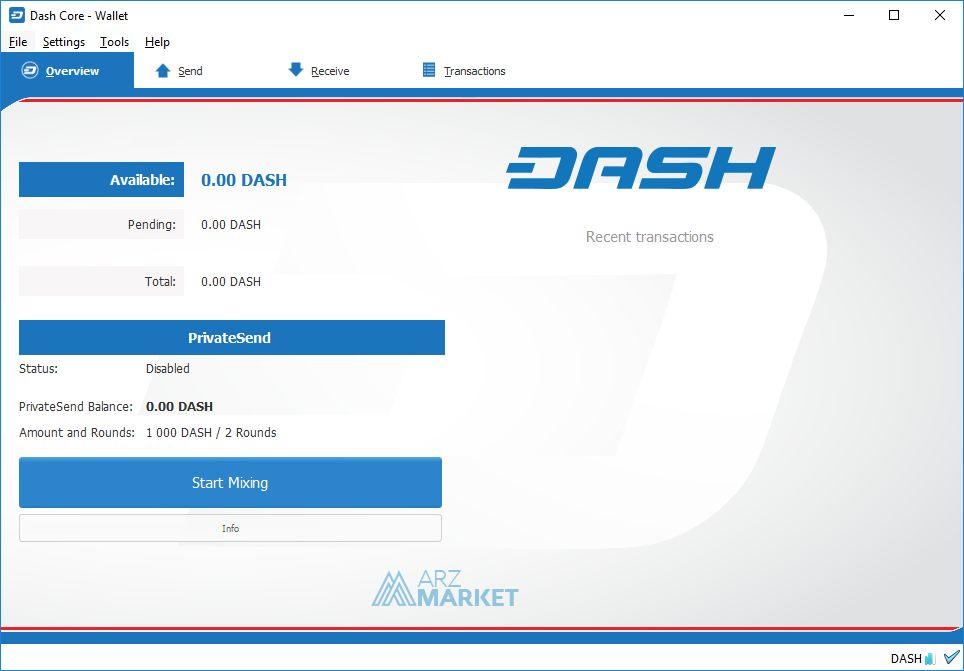 dash-core-wallet