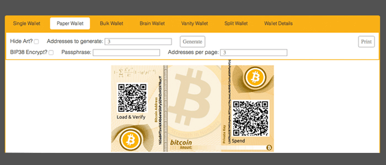 Bitcoin.com کیف پول کاغذی بیت کوین - آموزش ساخت کیف پول کاغذی بیت کوین و بیت کوین کش