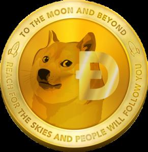 Dogecoin Logo Small 291x300 - دوج کوین Dogecoin چیست؟ هر آنچه باید درباره این ارز دیجیتال بامزه بدانید.