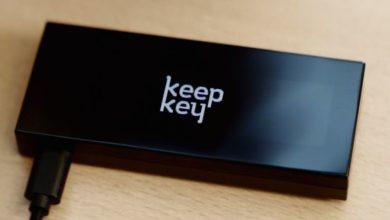 تصویر از بررسی کیف پول سخت افزاری کیپ کی KeepKey