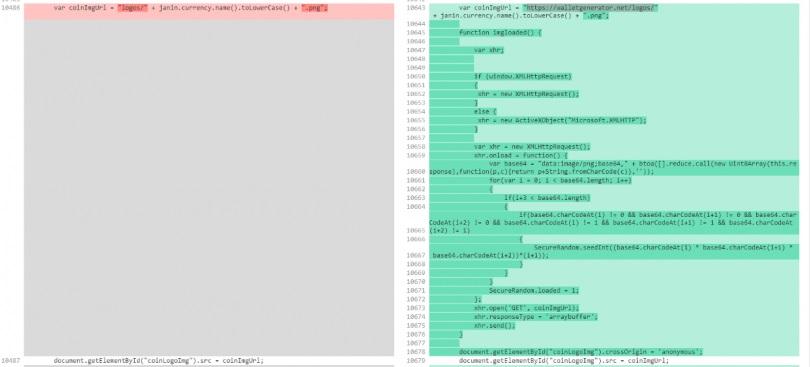 CODE wallet gen 810x367 - هشدار: کشف آسیبپذیری در سایت تولید کیف پول کاغذی!