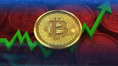 bitcoin price rise 390x220 - نشانه های بهبود بازار رمز ارزها در حالی که قیمت نفت رو به کاهش است