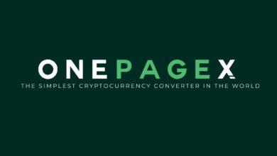 تصویر از تبدیل سریع و کمهزینه ارزهای دیجیتال با وانپیچاکس (OnePageX)