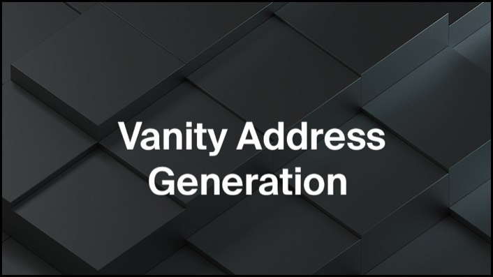 Vanity-Address-Generation