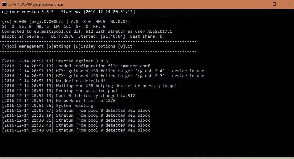 cgminer zps3l9gebih - بهترین نرم افزارهای استخراج بیت کوین