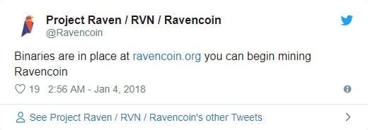 توئیت ریون کوین