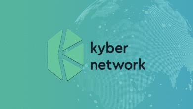تصویر از نحوه ی تبادل توکن ها در شبکه کایبر (Kyber Network)