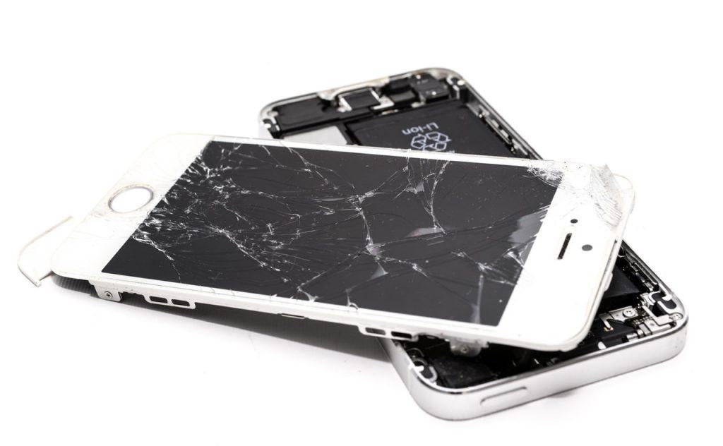 تلفن شکسته