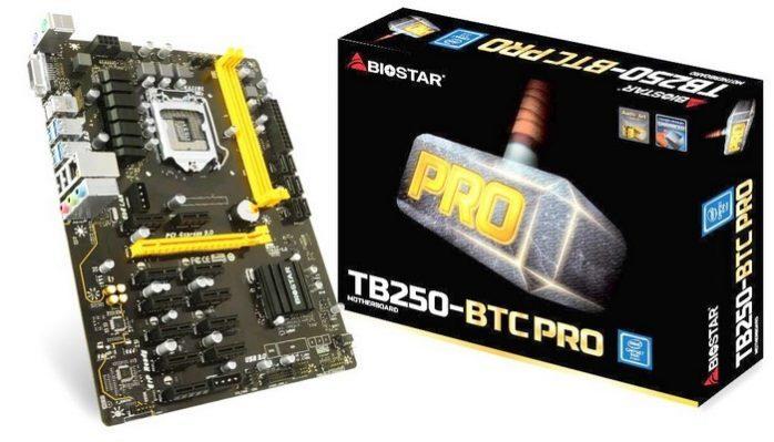 مادربرد BIOSTAR TB250-BTC PRO