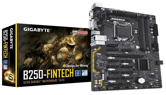 مادربرد GIGABYTE B250-FinTech