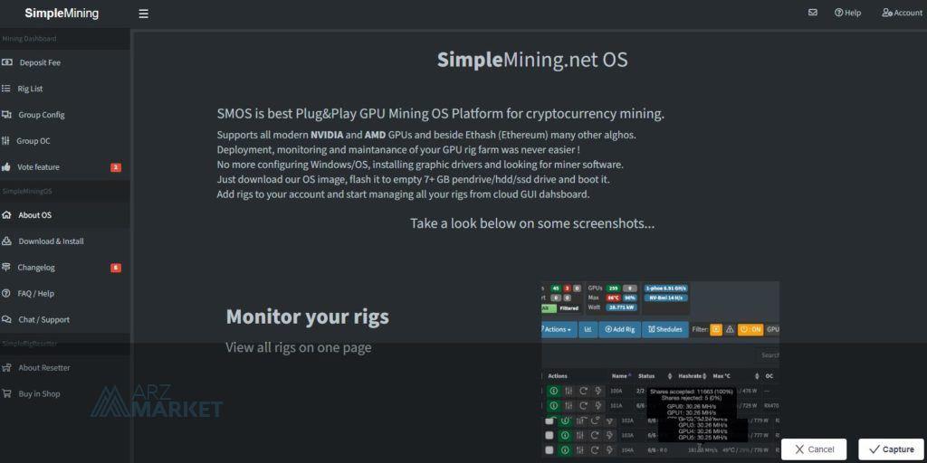 SimpleMining-net