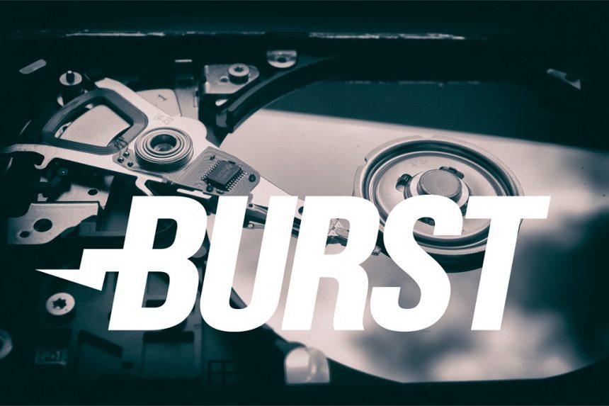 burst image