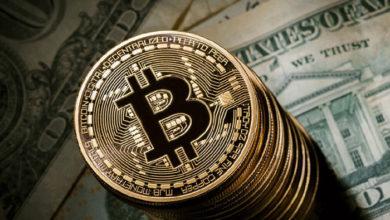 تصویر از قیمت بیت کوین از ۸,۰۰۰ دلار عبور کرد