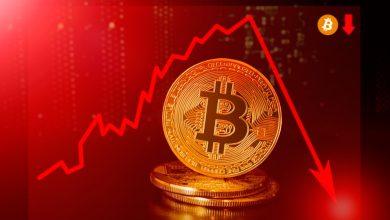 تصویر از سقوط ناگهانی قیمت بیت کوین به زیر ۷,۰۰۰ دلار