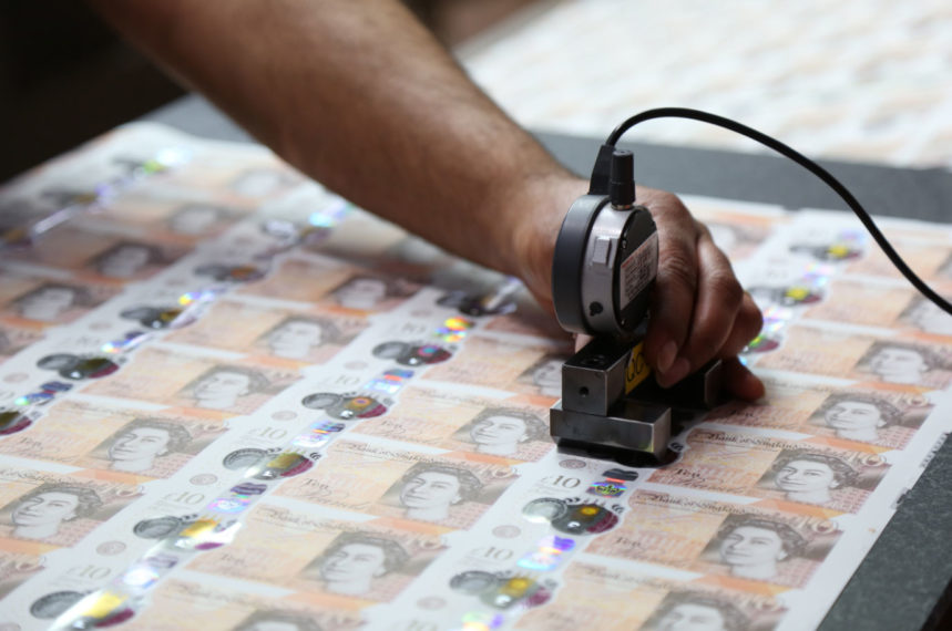 چاپ پول بدون پشتوانه