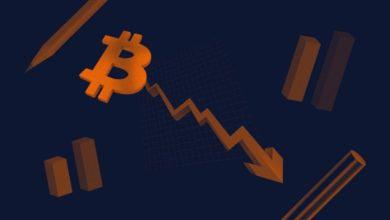 تصویر از سقوط بیت کوین و صعود بازارهای سهام