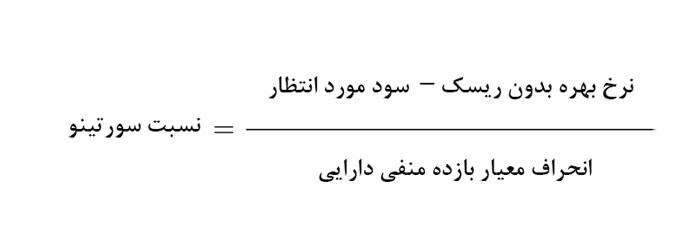 محاسبه نسبت سورتینو