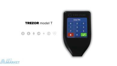 تصویر از بررسی کیف پول تزور مدل تی (Trezor Model T)