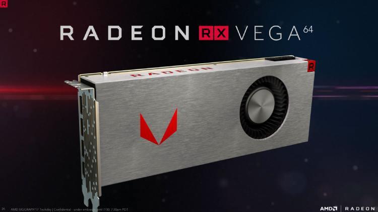کارت گرافیک AMD Radeon RX Vega 64