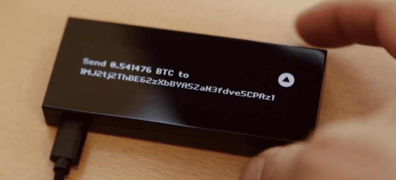 keepkey-send-btc